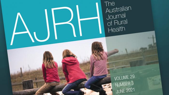 Cover of Australian Journal of Rural Health